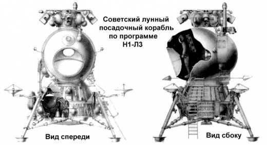 Лунный модуль по советской программе