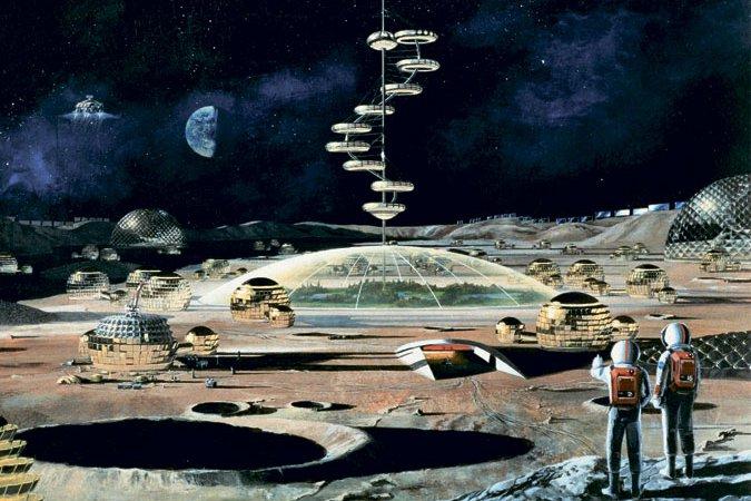 База на Луне
