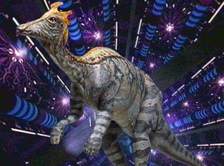 Реконструкция разумного динозавра