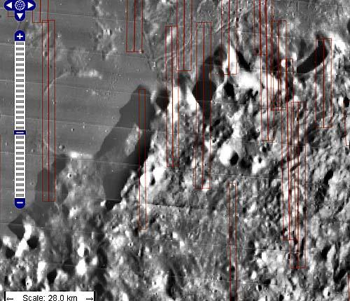 Центральные Апеннины на Луне - главное место археологической разведки