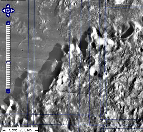 Центральные Апеннины - место главной археологической разведки на Луне