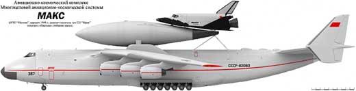 Ан-225 и МАКС