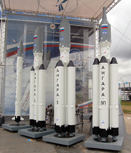 Типы ракето-носителя Ангара