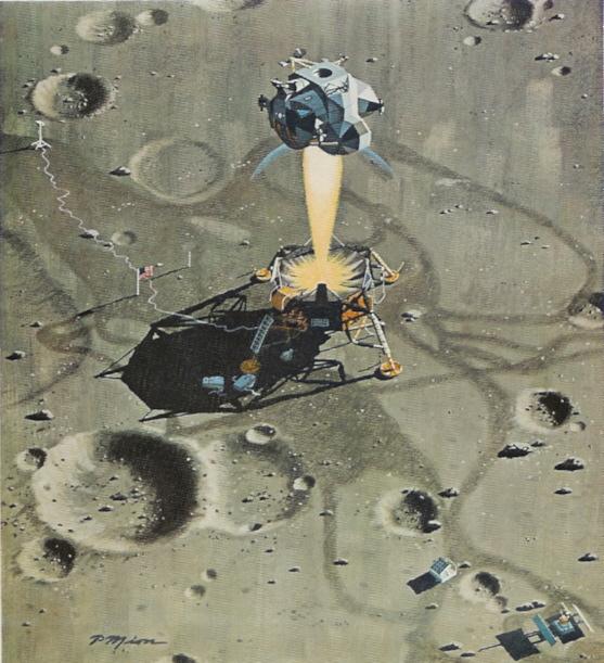 Взлет с Луны. Аполлон-11