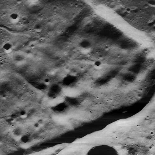 Фрагмент кратера Гассенди
