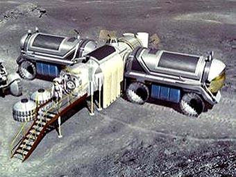 Лунная база по НАСА