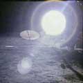 Человек на Луне. Солнце на снимках Аполлонов в 20 раз больше!