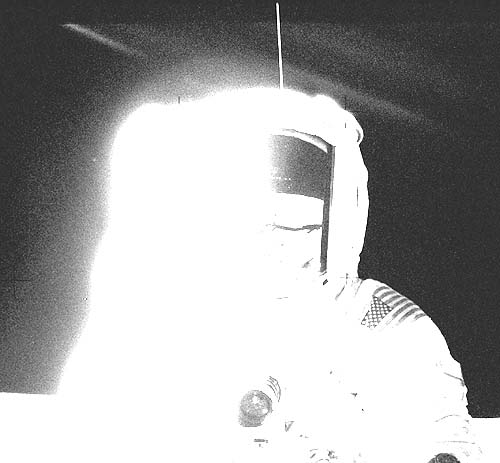 Ретуширование фотографий лунных экспедиций Аполлон