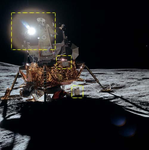 Нелепости фотографий Аполлон-14