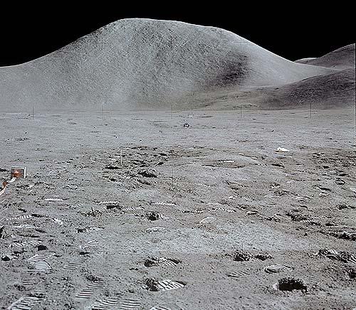 Гора Хэдли, лунные Апеннины