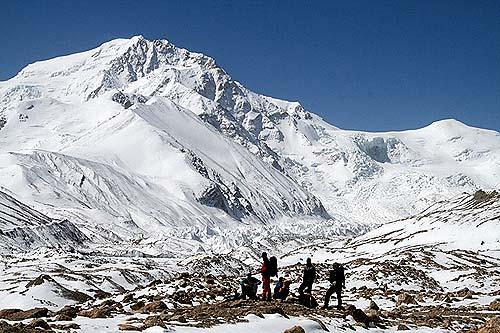 Гора Шиша Пинга, 8013 метров
