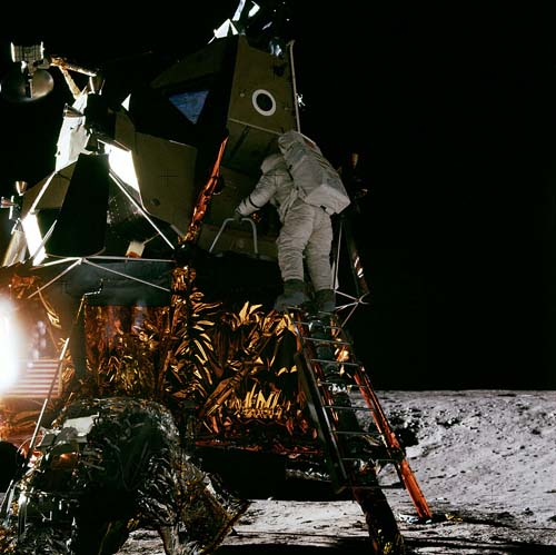 Нелепости фотографий Аполлон-12
