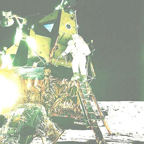 Абсурдность американских лунных фотографий