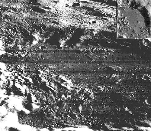 Загадочный кратер Укер, 23-26 км в поперечнике