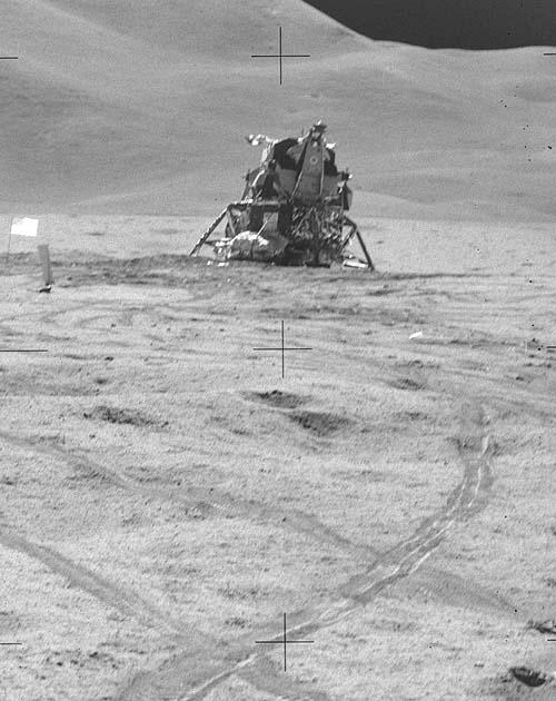 Фальсификация полета американцев к Луне