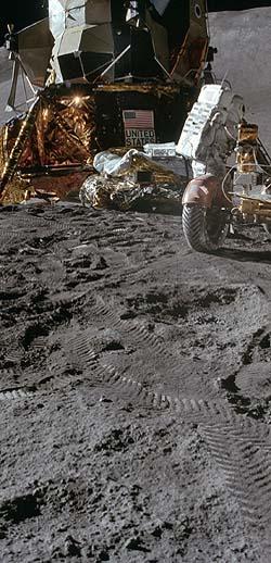 Фальсификация полетов американцев к Луне