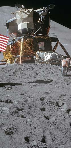 Место посадки Аполлон-15