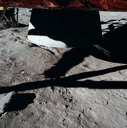 Состояние грунта под Аполлон-11