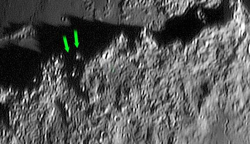 Светящиеся явления на Луне