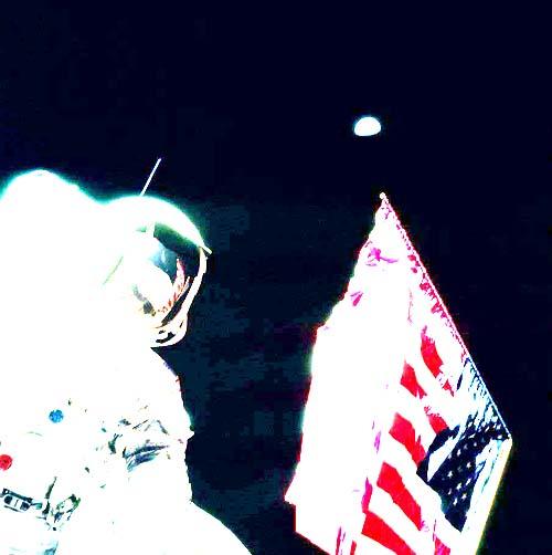 Подделка лунных фотографий НАСА