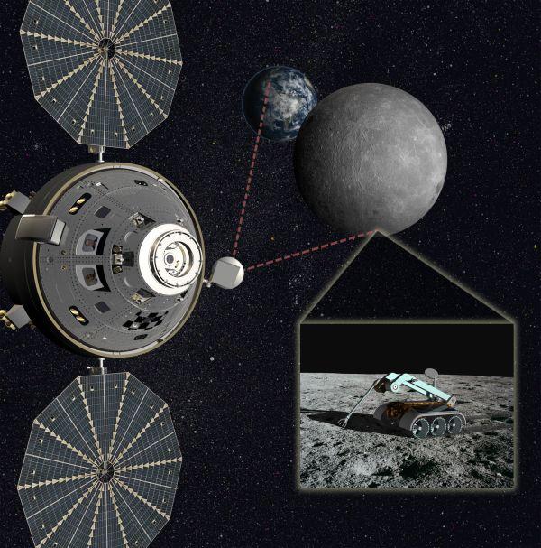 База в точке Лагранжа Земля-Луна