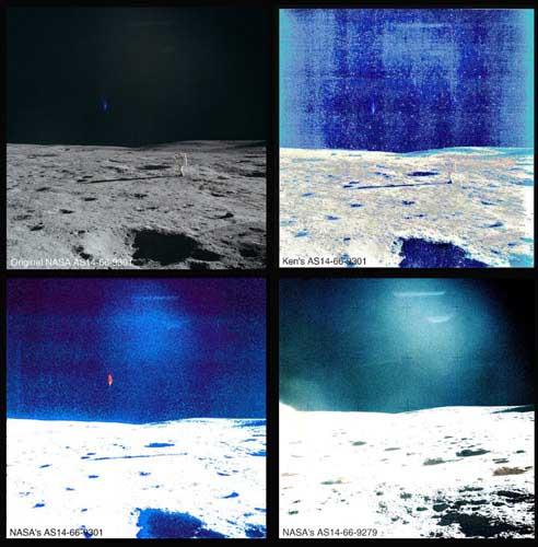 Неземная цивилизация на Луне