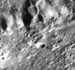Артефакты на Луне