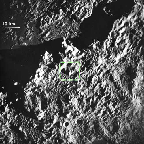 Мегалит на Луне