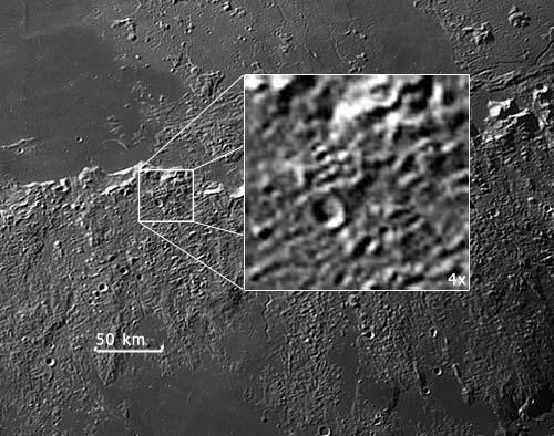 Древние артефакты на Луне