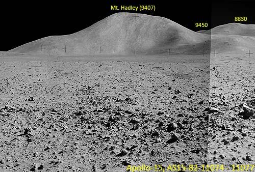 Вид на гору Хэдли, Аполлон-15